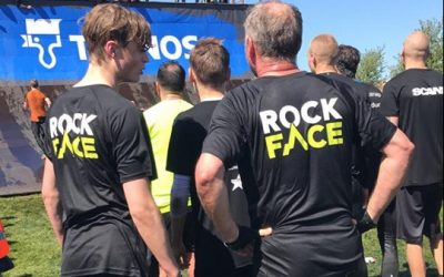 Promotion of our new men's brand, RockFace
